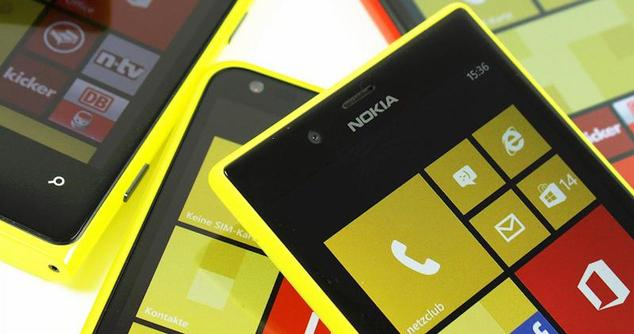 lumia 525 amarillo