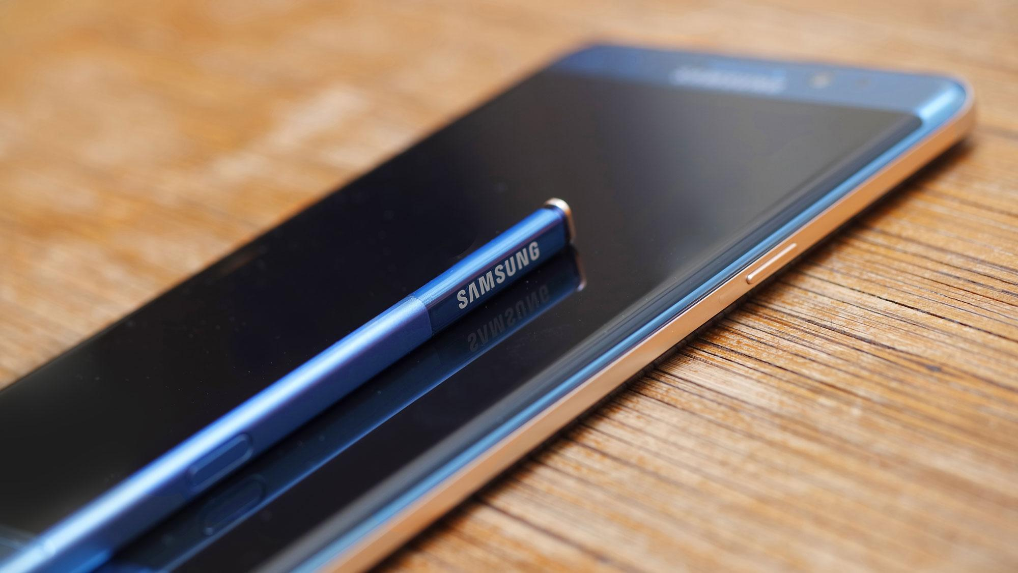 S Pen en el Samsung Galaxy Note 7