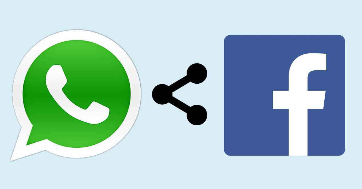 WhatsApp comparte a Facebook