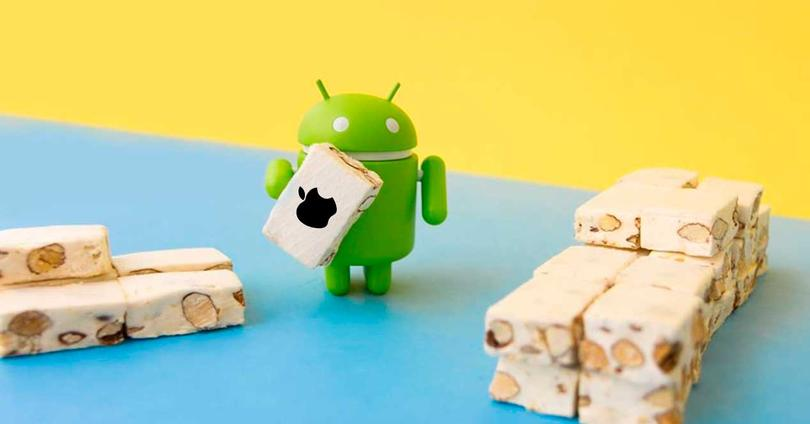 Android 7.0 Nougat iOS
