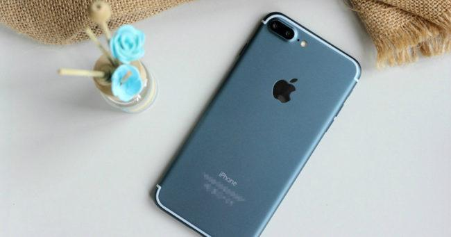 iPhone 7 azul