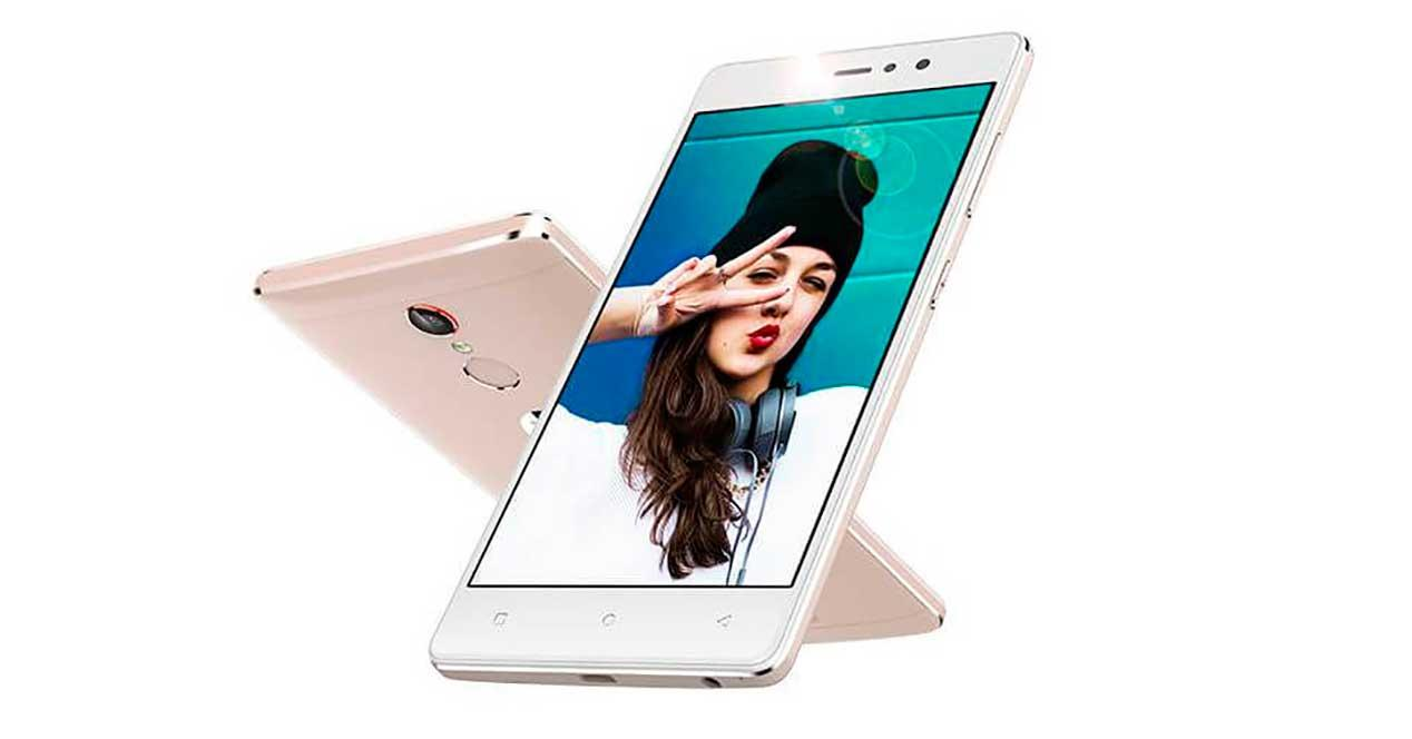 Gionee S6s rosa
