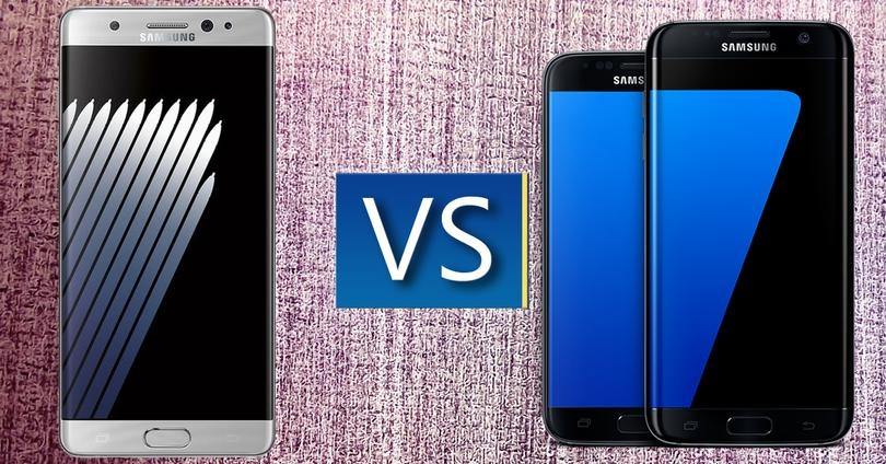 Samsung galaxy note 7 vs gama s7