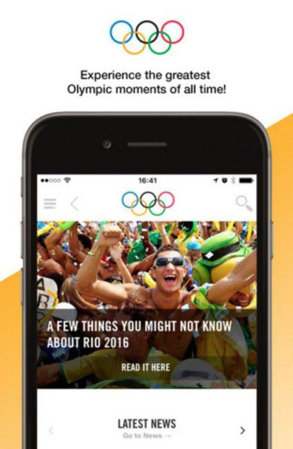 Apps The Olympics Rio 2016