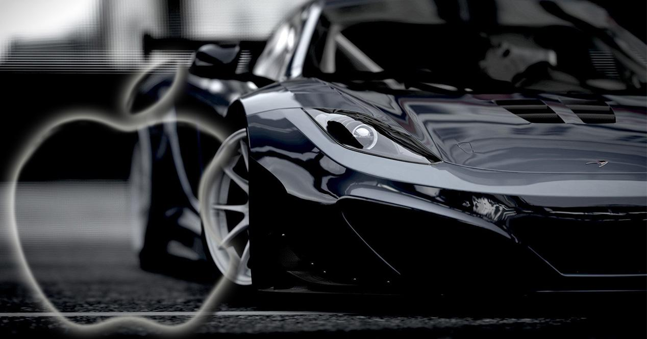 Mclaren MP12 con logo de Apple