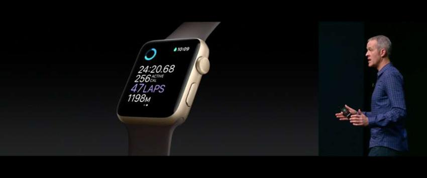 Resistencia al agua del Apple Watch 2016