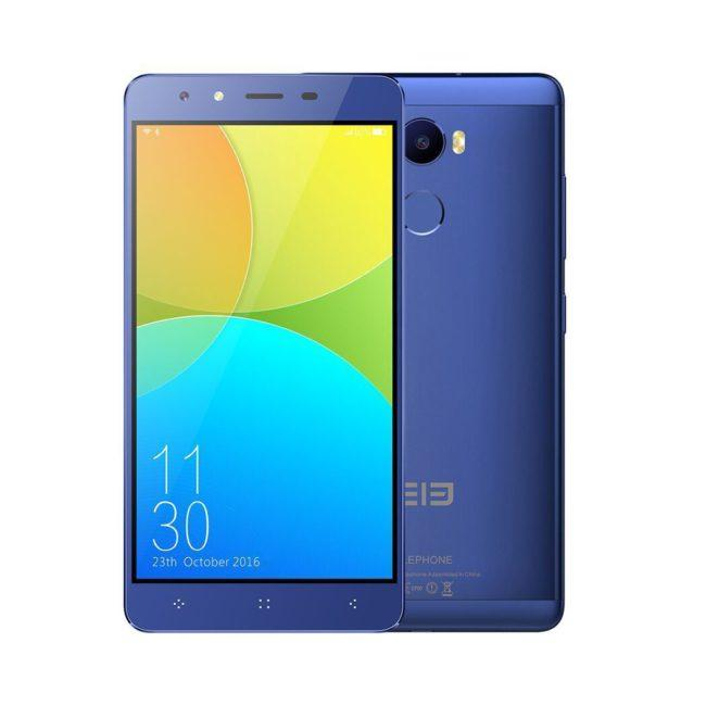 Elephone C1 de color azul