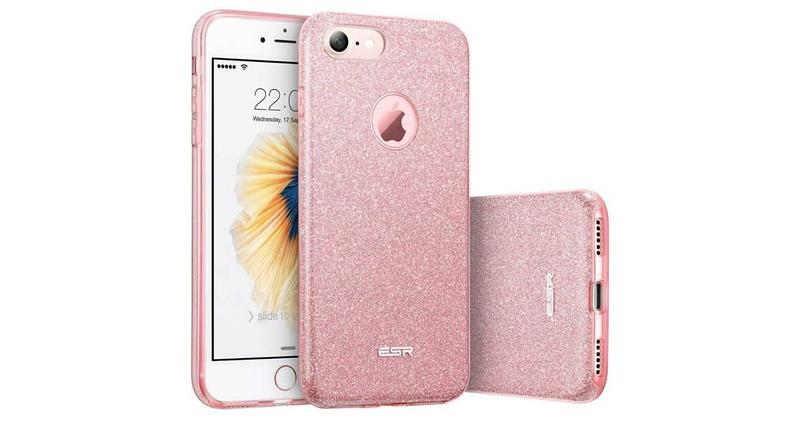 Funda iPhone 7 rosa