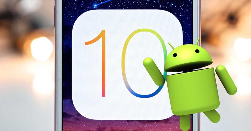 iOS 10 en Android