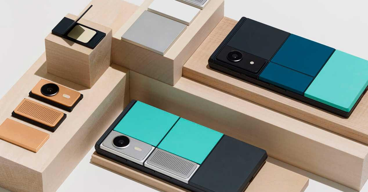 Project Ara moviles modulares