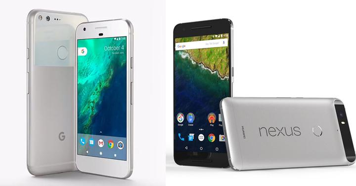 google pixel xl vs nexus 6p