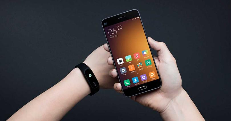 Xiaomi Mi Band 2 falsa