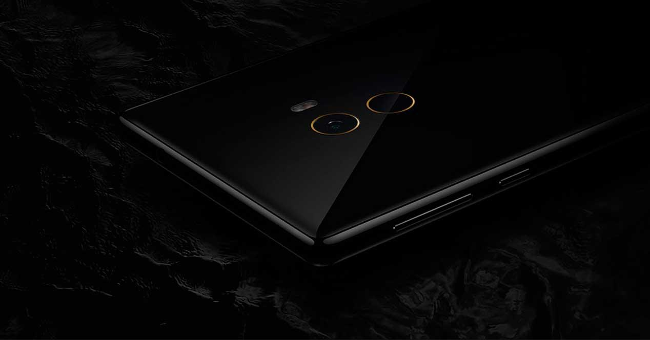 Xiaomi Mix de color negro