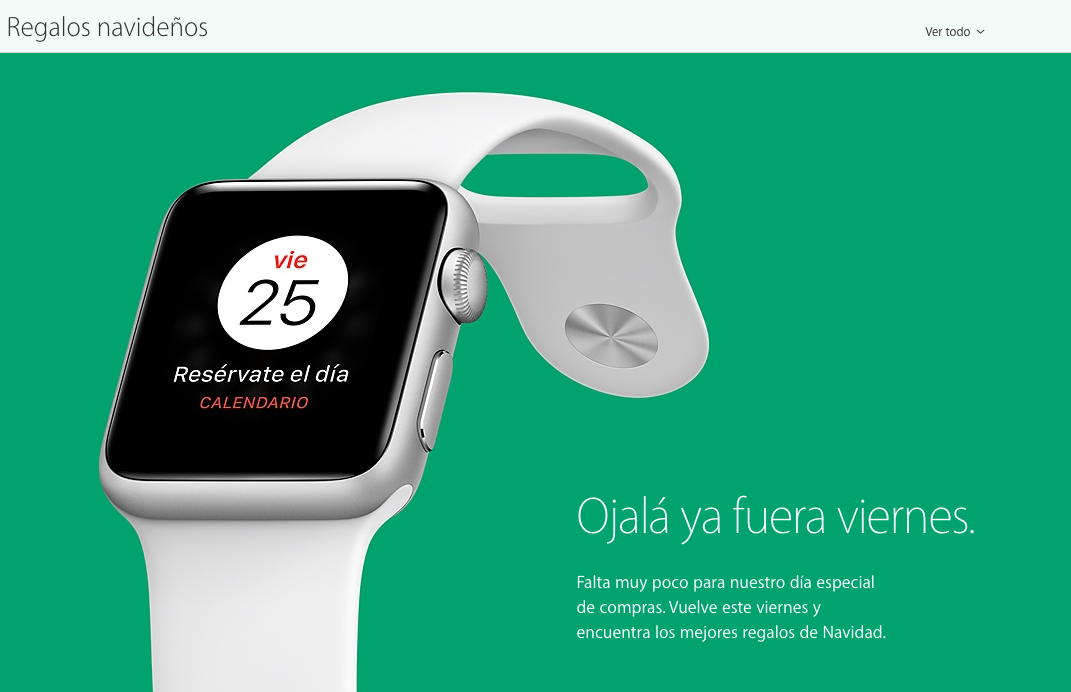 Apple Watch anuncio black friday 2016