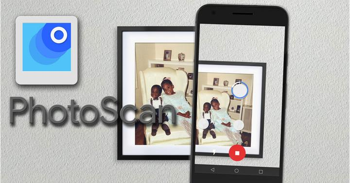 App PhotoScan para pasar fotos analógicas a digitales