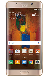 Frontal del Huawei Mate 9 Pro