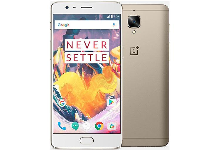 OnePlus 3T en color dorado