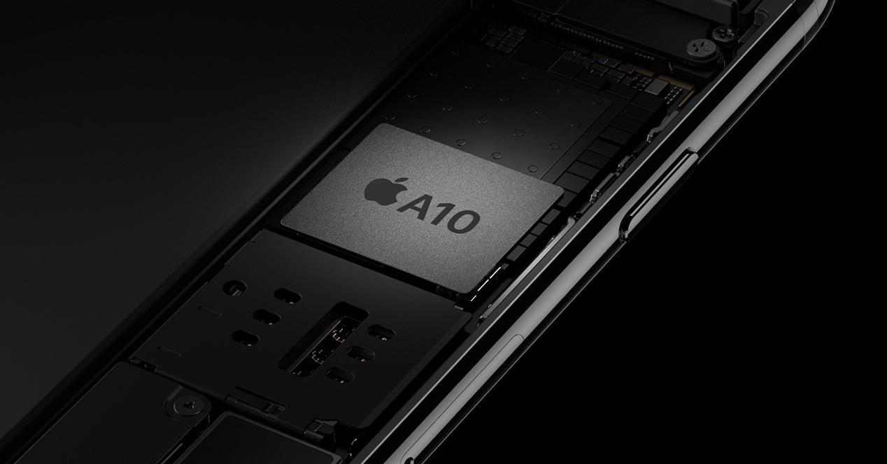 Procesador Apple A10 del iPhone 7
