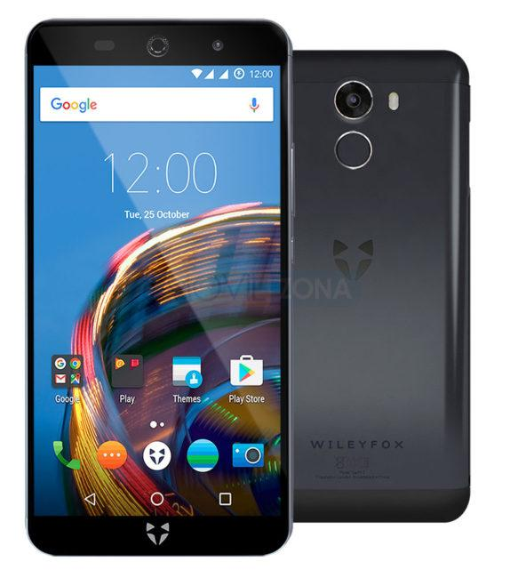 Wileyfox Swift 2 negro