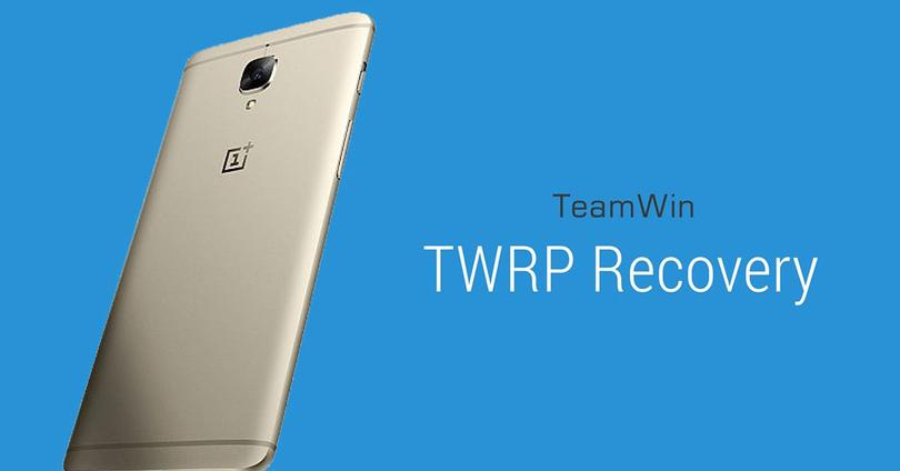 TWRP recovery para el OnePlus 3T