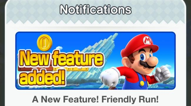 friendly run super mario run