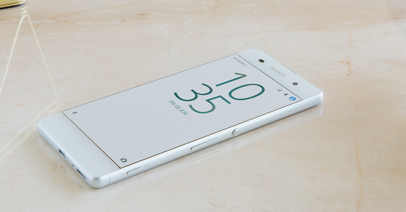 sony xperia xa en color blanco