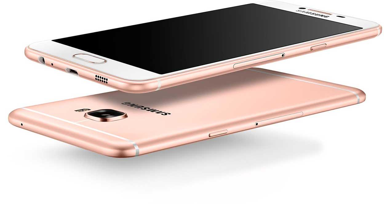 Samsung Galaxy C5 color rosa