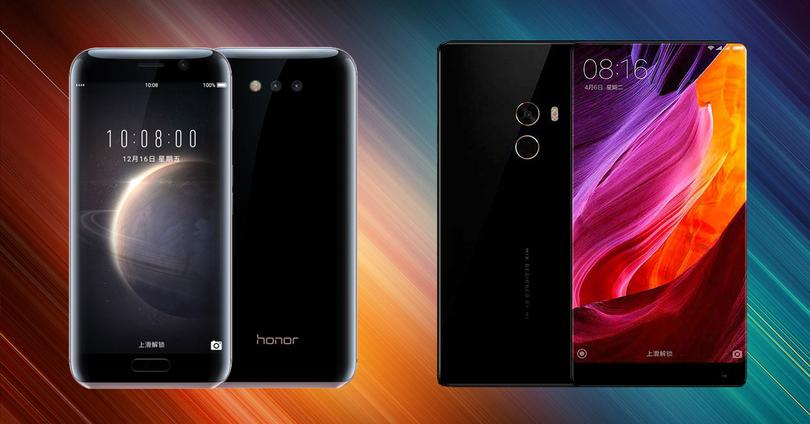 honor magic vx xiaomi mi mix