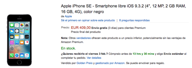 iPhone SE Amazon