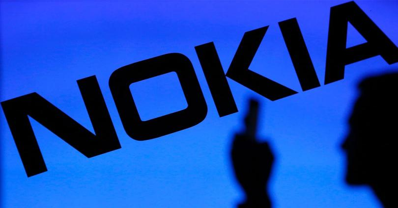 Logotipo de Nokia sombreado