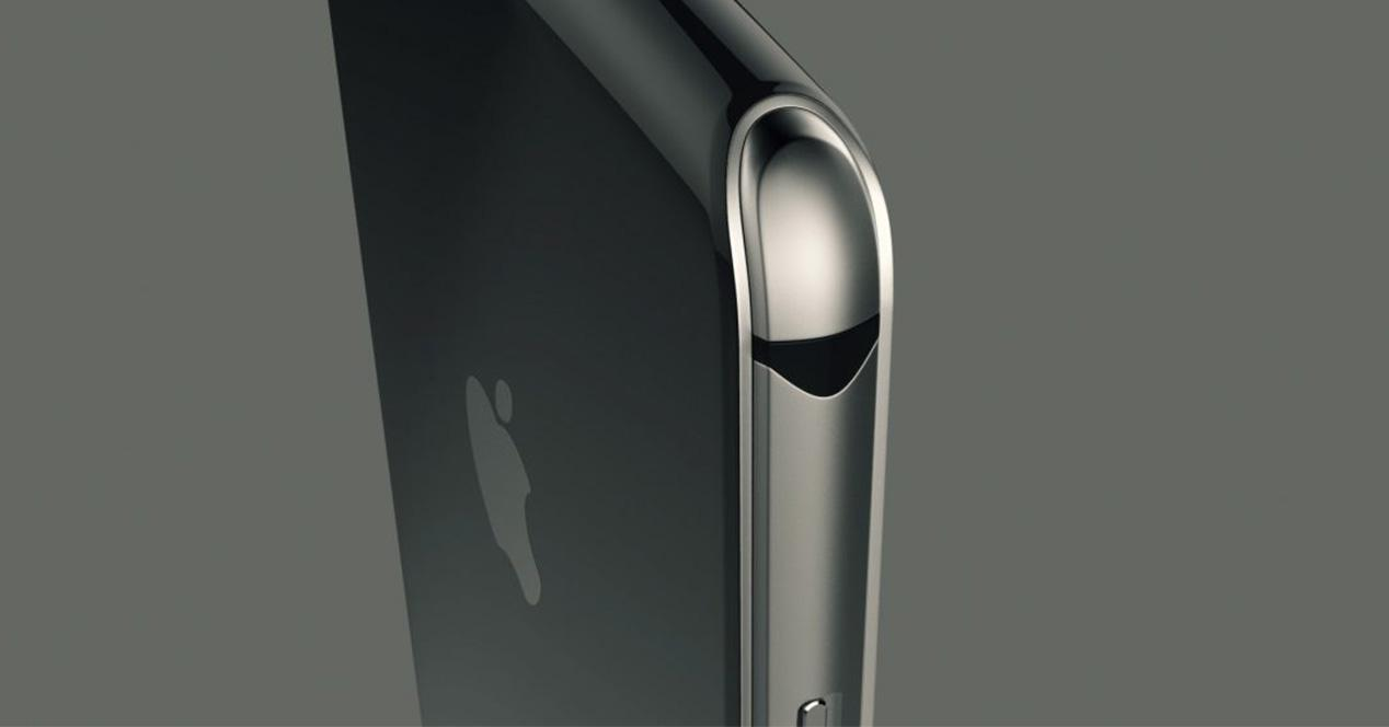 Carcasa de acero del iPhone 8
