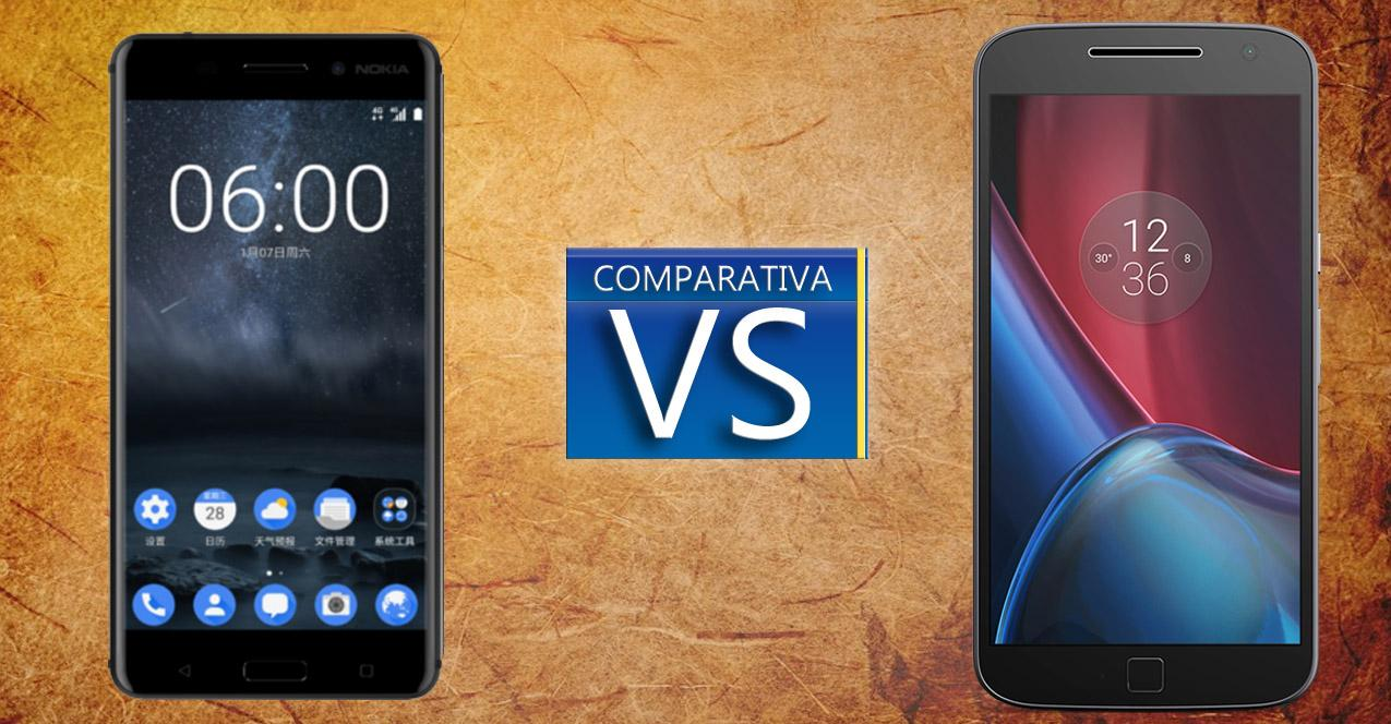 moto g4 plus vs nokia 6