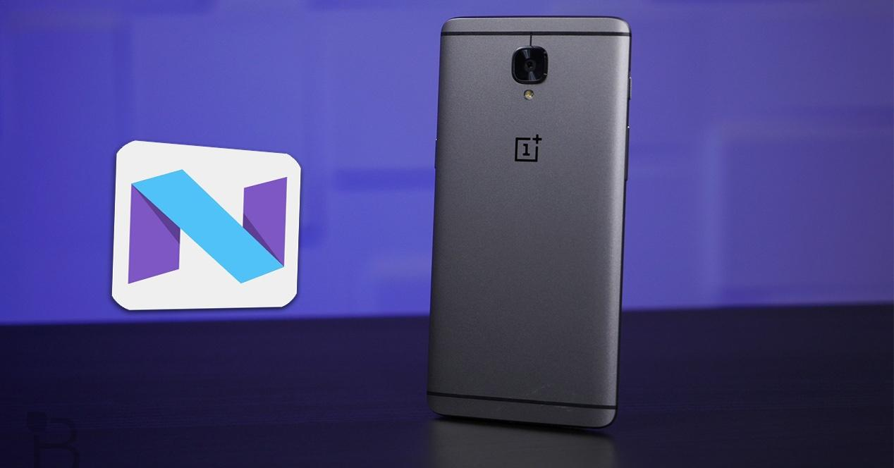 OnePlus 3 con Android 7