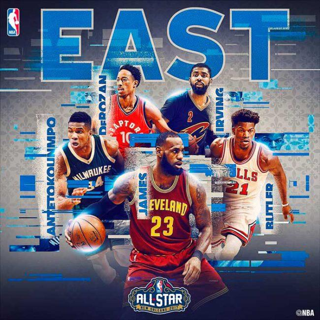 All Star de la NBA 2017