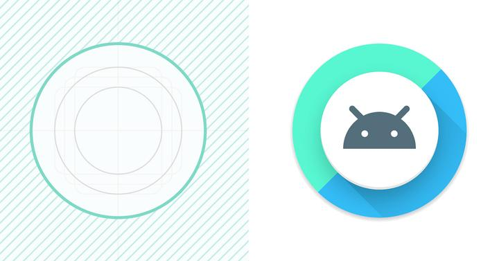 Logotipo de Android O