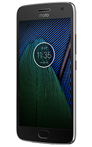 Frontal del Lenovo Moto G5 Plus