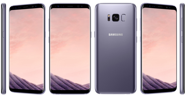 resolución del Samsung Galaxy S8