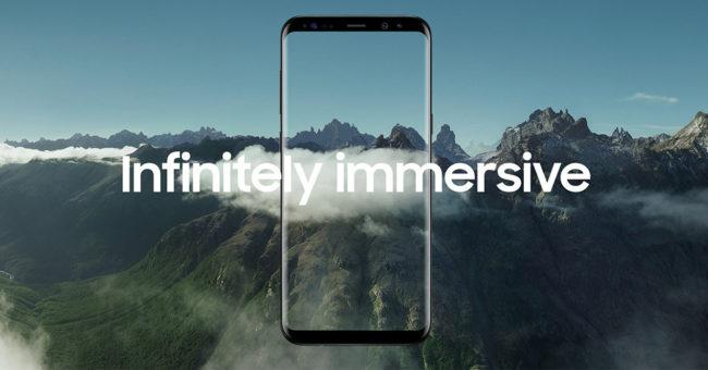 Pantalla Infinity Display del Samsung Galaxy S8