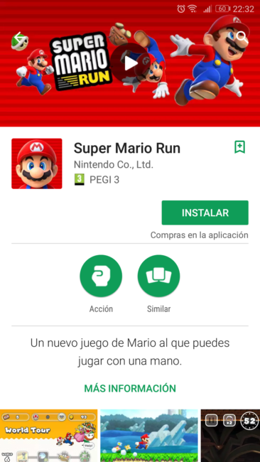 mario run android