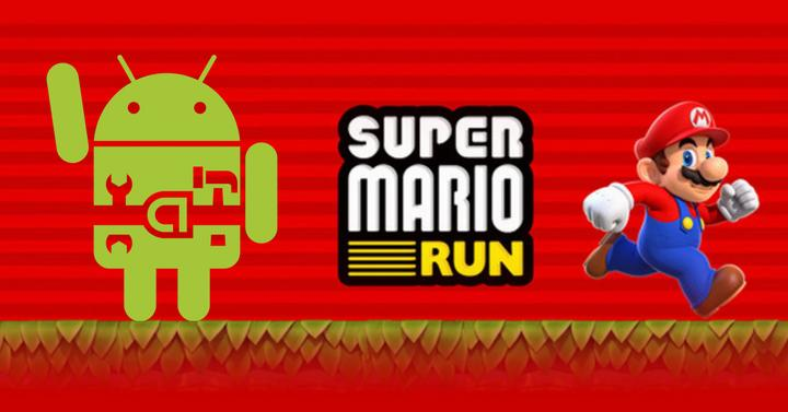 super mario run root