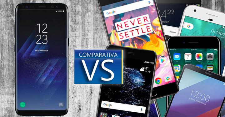s8 plus vs topes de gama