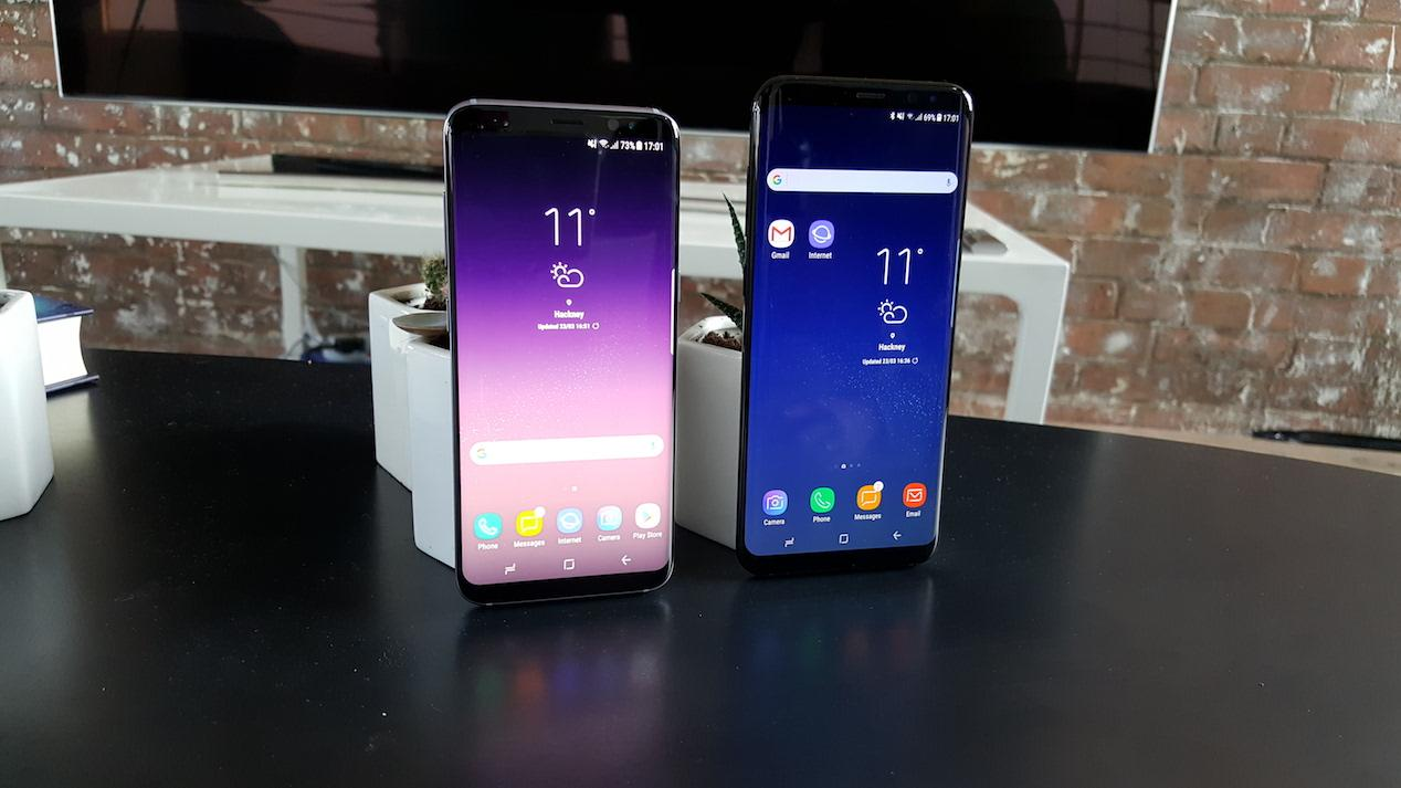 samsung galaxy s8 vs samsung galaxy s8+ 2