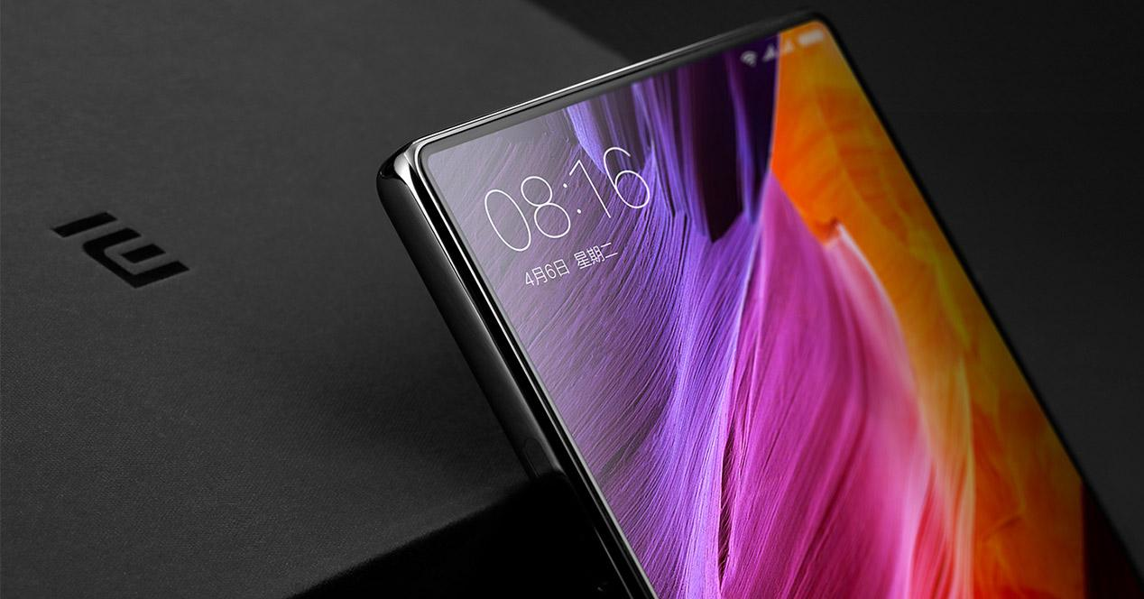 Display del Xiaomi Mi Mix