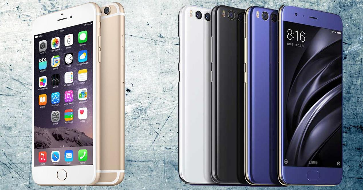 Xiaomi Mi6 vs iPhone 7