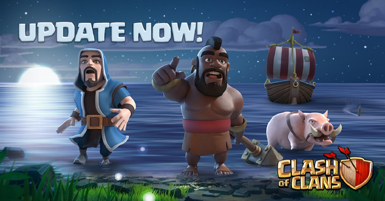 Actualización de Clash of Clans