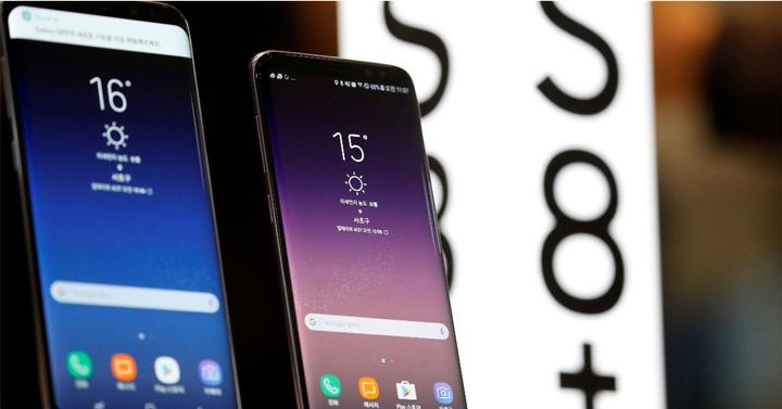 Display del Samsung Galaxy S8 y Samsung Galaxy S8+