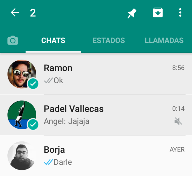 chats whatsapp