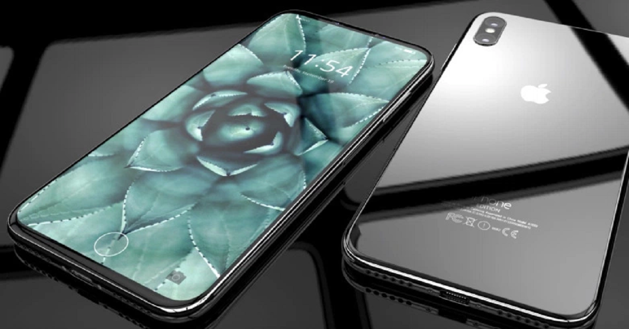 diseño del iphone 8