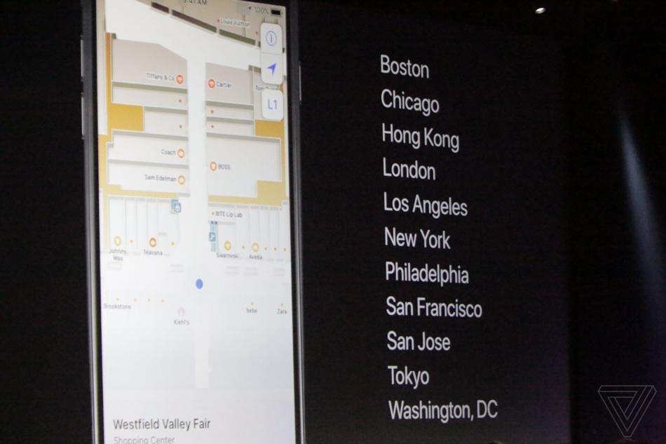 Novedades de Apple Maps integrado en iOS 11