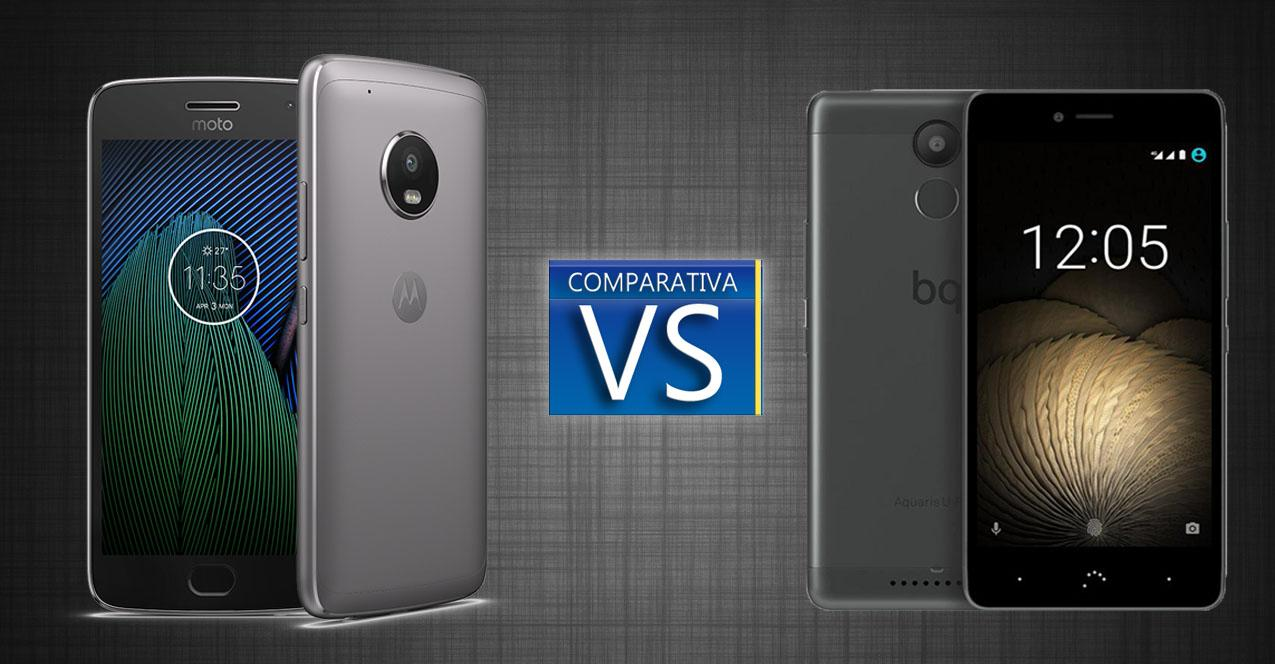 Moto G5 Plus vs BQ Aquaris U Plus